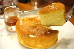 スフレパンケーキの提供時間